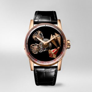 reloj lujo louis moinet space revolution